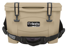 Grizzly 15 Quart w/ RAM® Lid - Tan/Tan