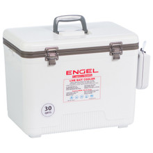 With Engel's new Live Bait Cooler, your minnows, shrimp or other live bait will always be ready for action