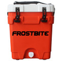 Frostbite Dual 20 Liquids Cooler - Orange with White lid