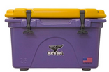 ORCA 26 Qt Purple/Gold High Performance Cooler - Made in the USA