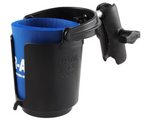 Track Mount RAM Drink Holder