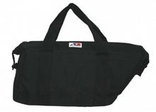 AO Motorcycle saddle bag canvas 18 pack cooler Black
