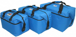 AO Canvas Large Family Pack Soft Coolers Royal Blue