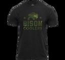 """Camo Bison"" T-Shirt"