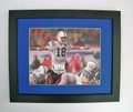 "Peyton Manning ""Airplane"" Photo framed"
