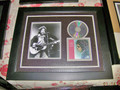 Bob Dylan Autographed photo-CD Collage