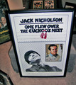 "JACK NICHOLSON Autographed ""One Flew Over the Cuckco's Nest"" Movie Poster"