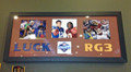 "Andrew Luck-RG3 ""Top 2"" Framed 3-picture Collage"