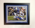 "Andrew Luck ""SUPERMAN"" Framed 20 x 24"