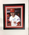 "Johnny Bench Autographed 16 x 20 ""Rookie of the Year"" Photo"