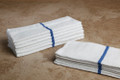 16 x 27 Value Hand Towel (blue center stripe, 300/case)