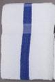 24 x 48 Economy Bath Towel (blue center stripe, 60/case)