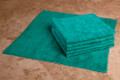 16 x 16 Microfiber Terry Towel (green, 200/case)