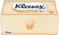 Kleenex Tissues - Aloe Vera - 90 per Box - 24 Boxes
