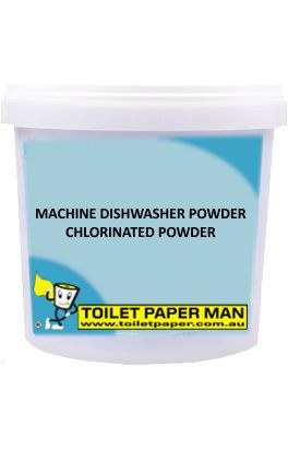 Toilet Paper Man - Machine Dishwasher Chlorinated Powder - 20 Kg Bucket