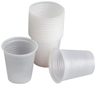 Plastic Cups - Cold Drink - 168ml or 6oz - 1000 per Box