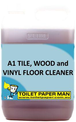 Toilet Paper Man - A1 Tile, Wood and Vinyl Floor Cleaner . 20 Litre