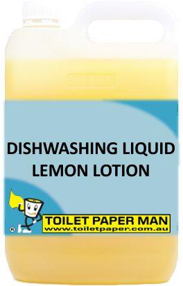 Toilet Paper Man - Dishwashing Liquid - Lemon Lotion - 5 Litre
