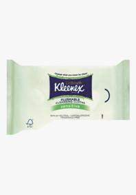 Kleenex Cottonelle Flushable Unscented Cleansing Cloths - 42 Per Pack - 10 Packs
