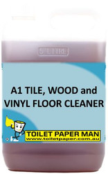 Toilet Paper Man - A1 Tile, Wood and Vinyl Floor Cleaner . 5 Litre
