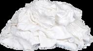 White Knit Rags - 15 kg