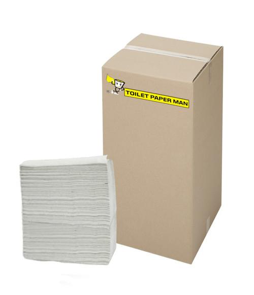 Wide Fold - 2 ply -  White Interleaved Paper Towel - 22.5 x 23 cm - 4000 Sheets per Carton