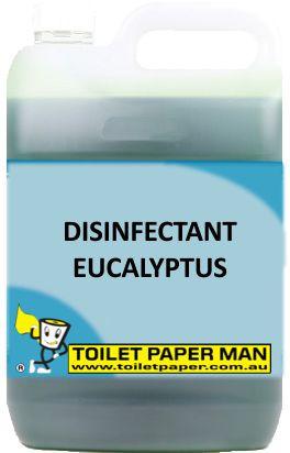 Toilet Paper Man - Disinfectant Eucalyptus - 20 Litre