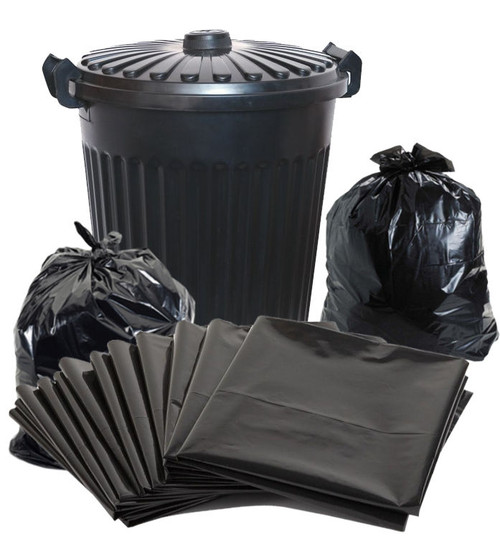 Garbage Bags - Heavy Duty - 72 Litre Bag - 900x760mm - 50 Bags