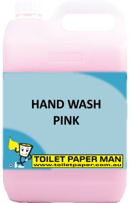 Toilet Paper Man - Hand Wash - Pink - 20 Litre