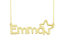 Personalized Name Necklace Emma Style