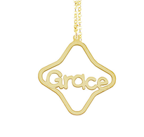 Personalized Name Necklace Grace Pendant Style
