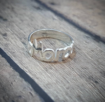 Shamire Personalized Name Ring