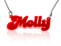 Name Necklace Acrylic Any Name!