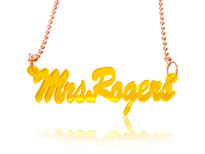 Acrylic Name Necklace Personalized with any name