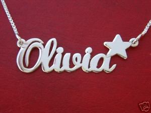 Personalized gift, name necklace, custom made just for you
