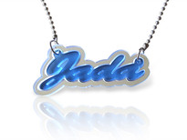 3D Acrylic Name Necklace