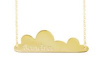 Personalized Bar Necklace Niebla Style
