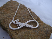 Infinity Name Necklace Necklace