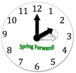 Change your IonTime to Spring Forward