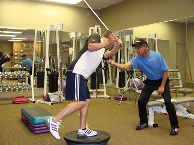 Think You're in Shape for Spring Golf… Think Again!