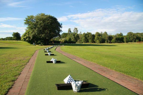 Hitting Off Golf Mats  vs Turf