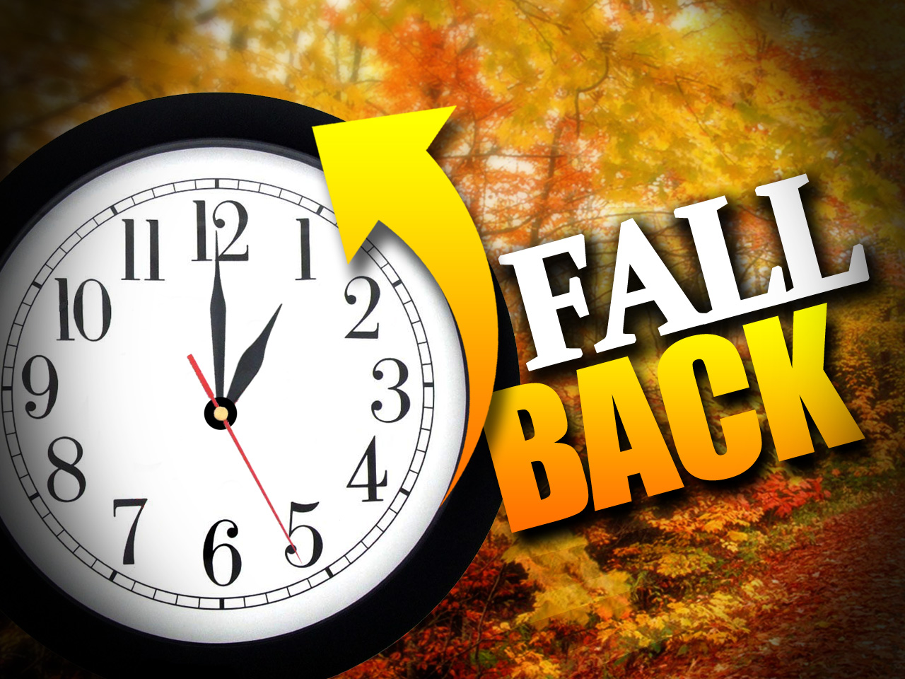 "Time to ""FALL BACK""  nine ways to make it easier on yourself!"