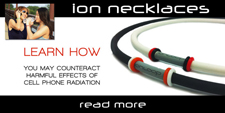 Ionloop Negative Ion Necklace and Cell Phone Use