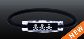 NEW! Skull and Crossbones Ion Bracelets!