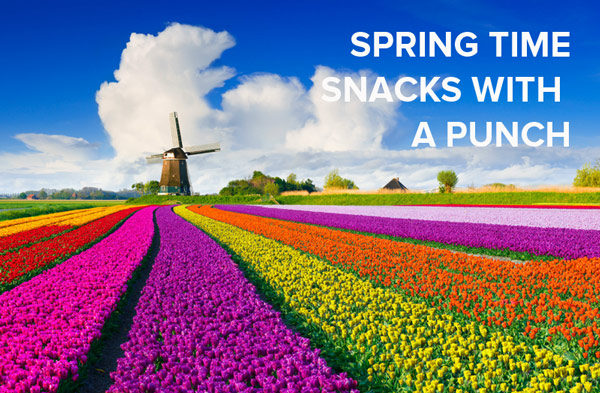 Spring Ahead with Satisfying Snacks
