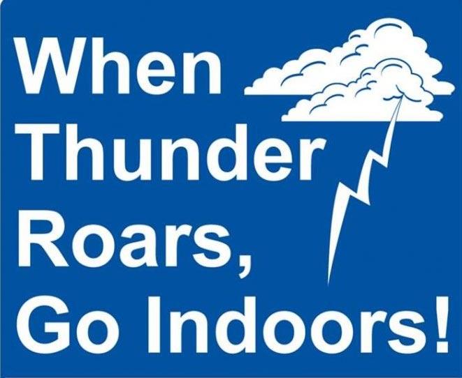 An Expert Escape: When Thunder Rolls Across the Green