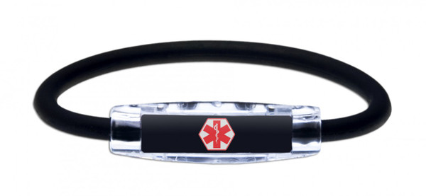 IonLoop Medical Alert Bracelet  (front view)