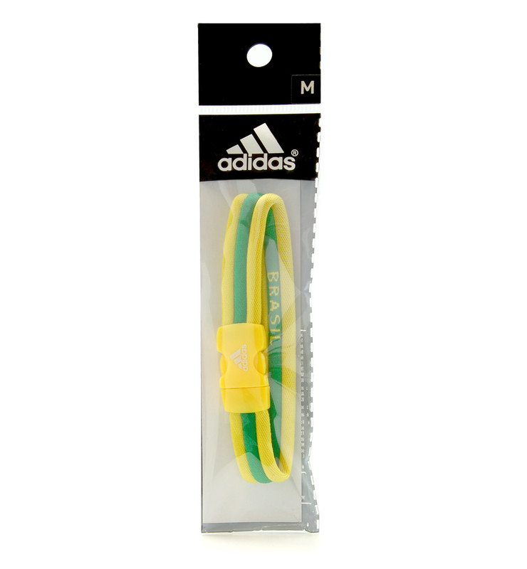 adidas Olympic Brazil Ionic Bracelet (package view)