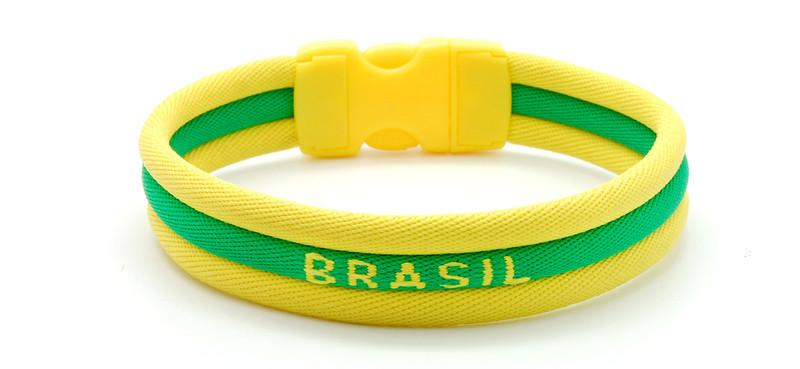 adidas Olympic Brazil Ionic Bracelet (side view)