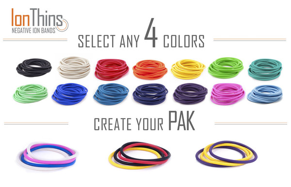 Pick any 4 IonThin color.